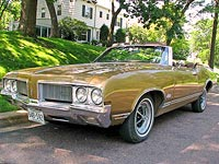 1970 Olds Cutlass Supreme Convertible for Sale
