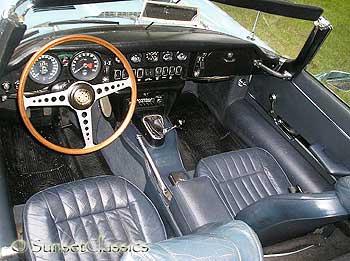 ... 1970 Jaguar XKE II E Type Interior