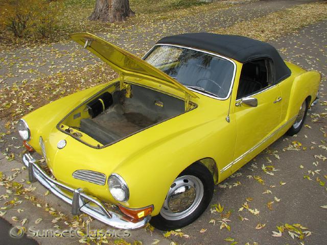 1971 Vw Karmann Ghia Convertible Body Gallery 1971 Karmann