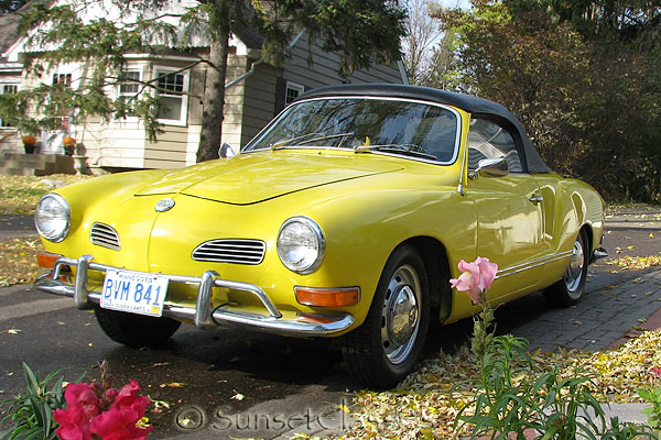 1971 Type 14 VW Karmann Ghia