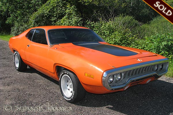 road runner 1971 muscle - photo #40