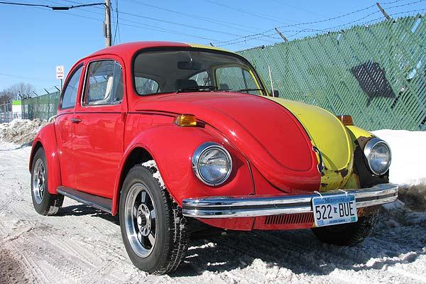 Very Unique 1971 VW Beetle for Sale