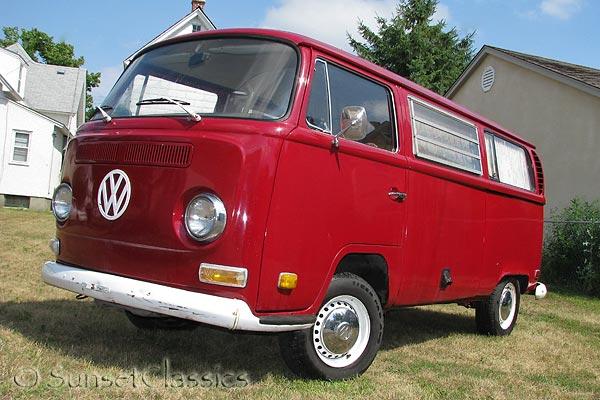 1971 VW Westfalia Bus Weekender for Sale