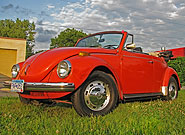 1972 VW Super Beetle Convertible