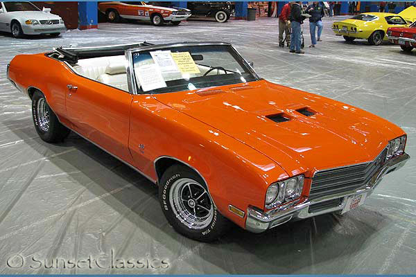 1972 Buick Gran Sport 455 Convertible For Sale