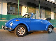 1972 VW Bug Convertible