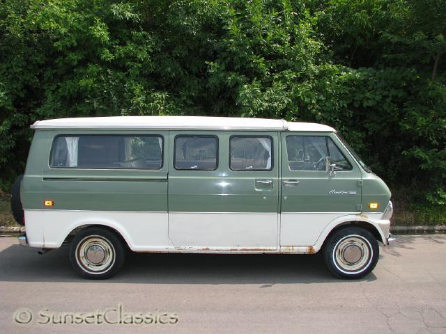 9d64b22fed35fc Sell used 1973 Ford Econoline Pop Top Camper Van 28k orig. miles ...