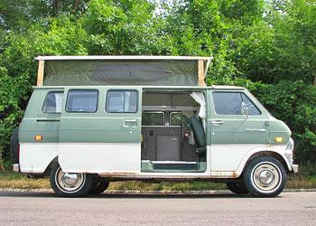 1973 Ford Econoline Van For Sale Interior