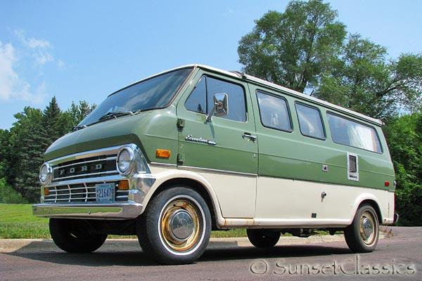 Sell Used 1973 Ford Econoline Pop Top Camper Van 28k Orig Miles