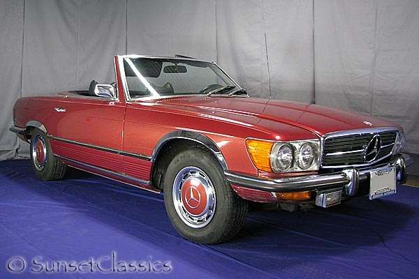 1973 mercedes 450sl convertible for sale