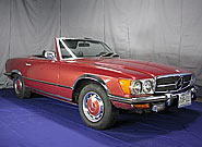 1973 Mercedes Benz 450SL Convertible