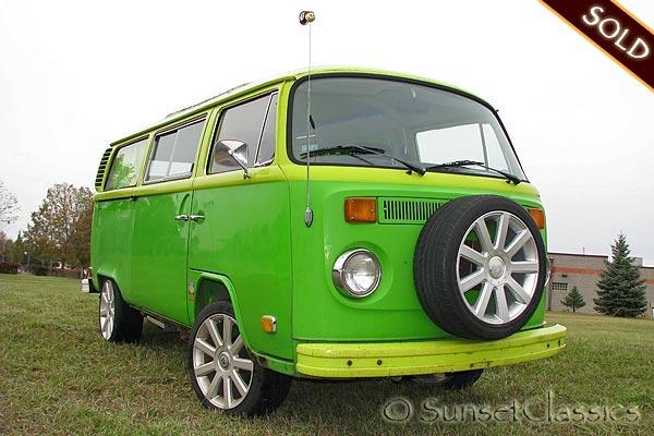 1973 Volkswagen Wild Westerner Camper Bus for Sale