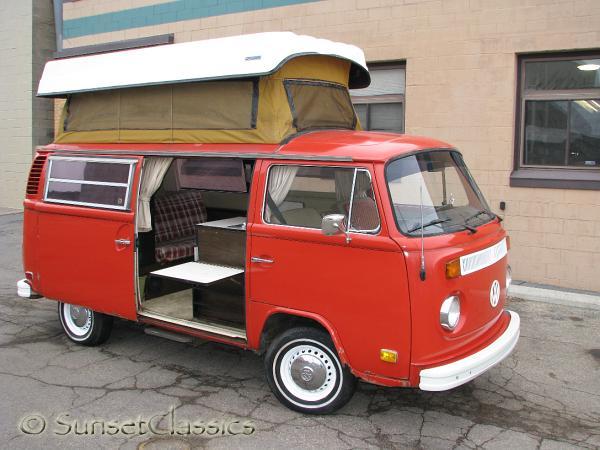 1973 automatic vw sportsmobile camper van body gallery 1973 vw sportsmobile van 986. Black Bedroom Furniture Sets. Home Design Ideas