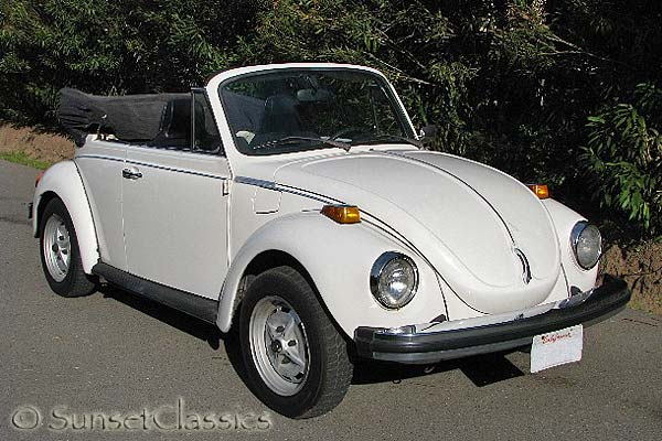 1974 VW Super Beetle Convertible for Sale