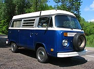 1974 Westfalia Pop Top Camper Bus for sale