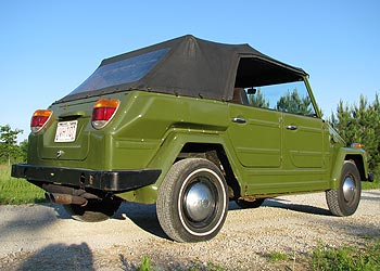 Green 1974 VW Thing
