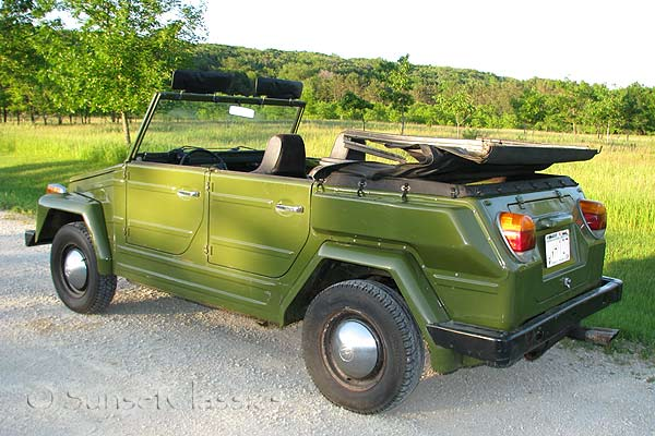 Rare Avocado Green 1974 VW Thing for Sale