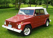 Red 1974 VW Thing