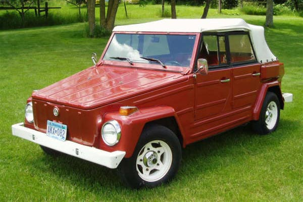 1974 Red VW Thing for Sale