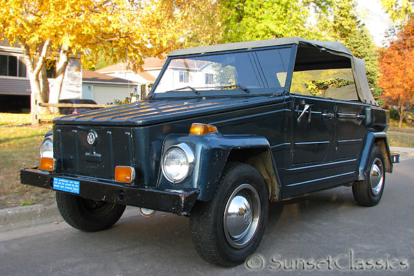 1974 VW Thing Auction in Minnesota