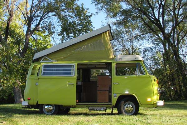 1974 vw westfalia pop top bus for sale. Black Bedroom Furniture Sets. Home Design Ideas