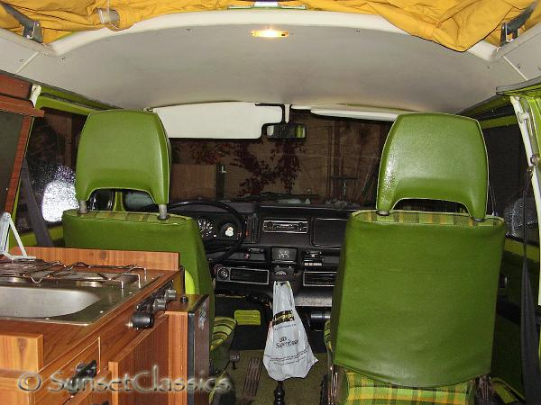 1976 vw westfalia camper bus interior gallery 1976 vw for Interior westfalia