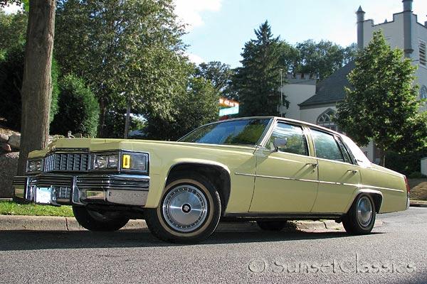 1977 Cadillac Sedan DeVille for Sale