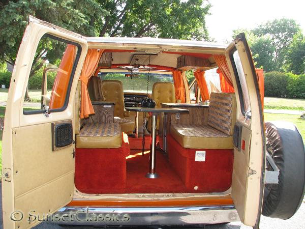1977 Ford Conversion Van Close Up Gallery 1977 Ford