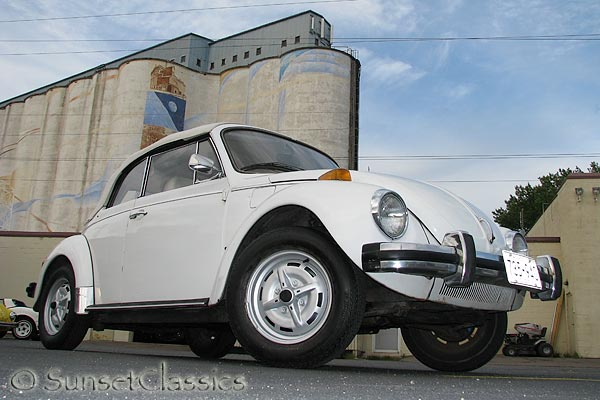 Classic Cars For Sale Mn >> Triple White 1977 VW Beetle Convertible for Sale