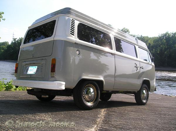1977 vw westfalia camper van for sale
