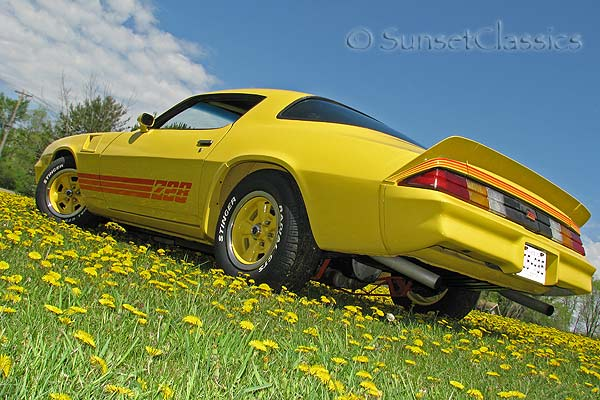 1980 chevrolet camaro z28. 1980 z28 chevy camaro yellow