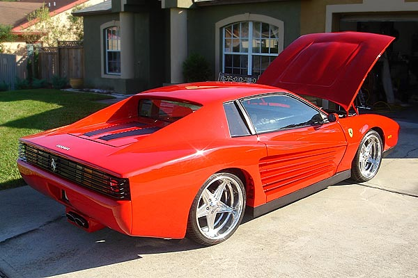 "This Fantastic ""Ferrari Testarossa"" made from an '86 Camaro has Sold"