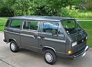 986 VW Vanagon GL 7 Passenger Van