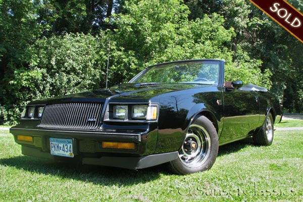 1987 buick grand national for sale one of a kind buick gn convertible. Black Bedroom Furniture Sets. Home Design Ideas