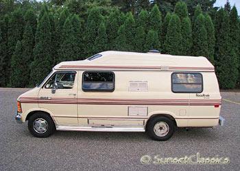 Roadtrek For Sale >> 1988 Dodge Roadtrek For Sale