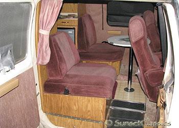 1988 Dodge Roadtrek Camper For Sale Recreational Vehicle Interior