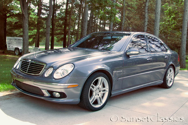2006 mercedes e55 amg the bold and beautiful for 2006 mercedes benz e55 amg