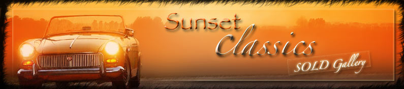 Welcome to Sunset Classics