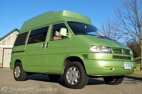 1991 vw eurovan westfalia high top camper for sale. Black Bedroom Furniture Sets. Home Design Ideas